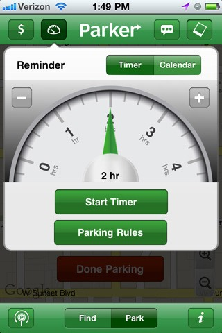 "How to Locate Free Parking Spots with Streetline's ""Parker"" App"