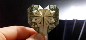 Fold Beautiful Origami Hearts Using Real Dollar Bills or Any Other Paper Money