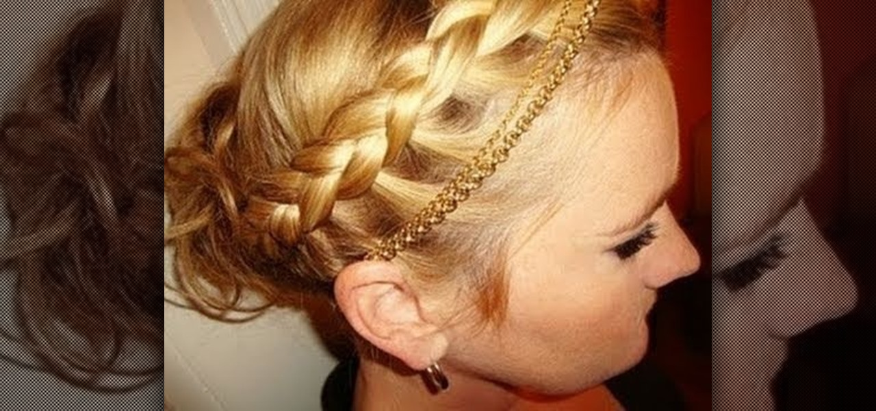 How To Create A Beautiful Braided Greek Goddess Updo For Fall