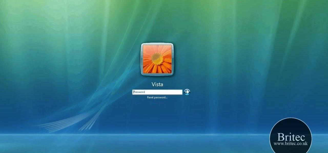 Recovery windows password windows 7
