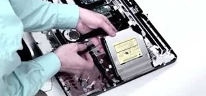 Repair the hard drive & SuperDrive on an Intel iMac
