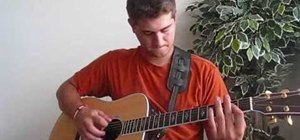 """Play """"Kiss A Girl"""" by Keith Urban on acoustic guitar"""
