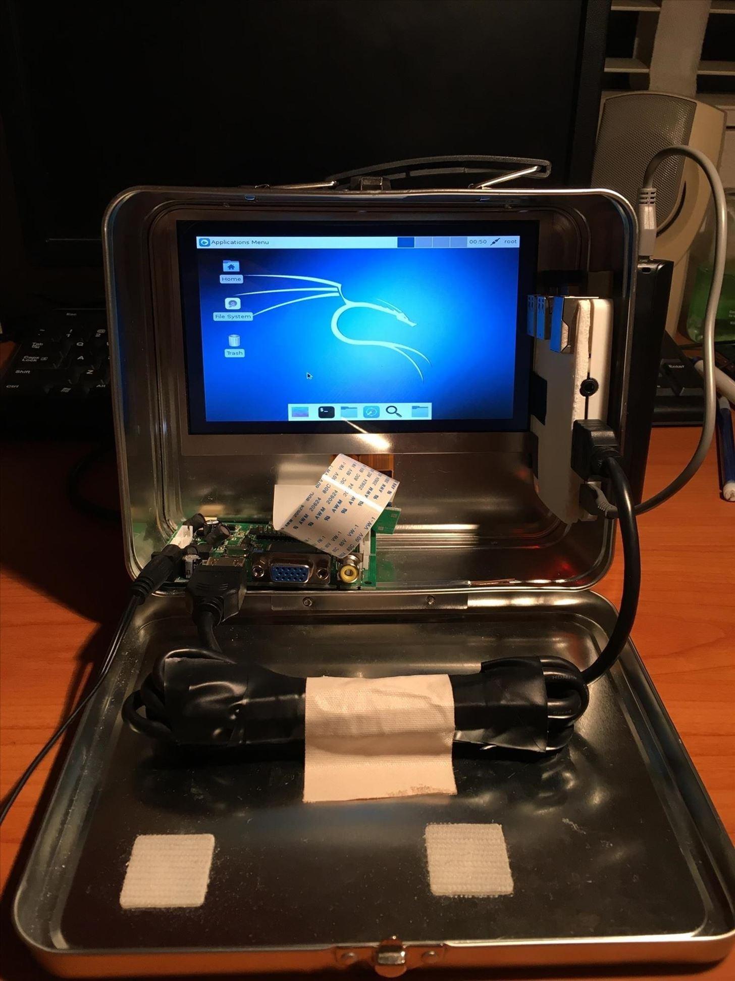 How to Build a Portable Pen-Testing Pi Box