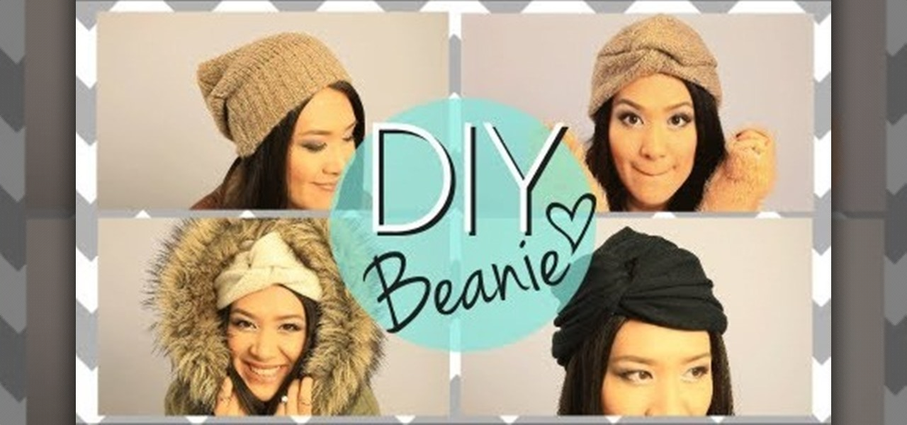 Make a Cozy Beanie from an Old Sweater.