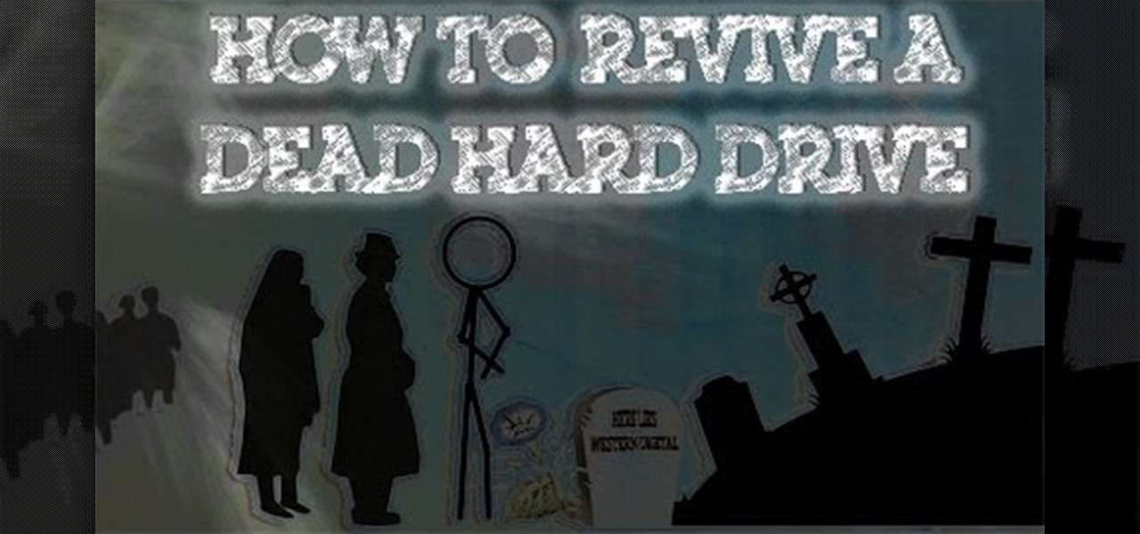 how to fix a dead hard drive