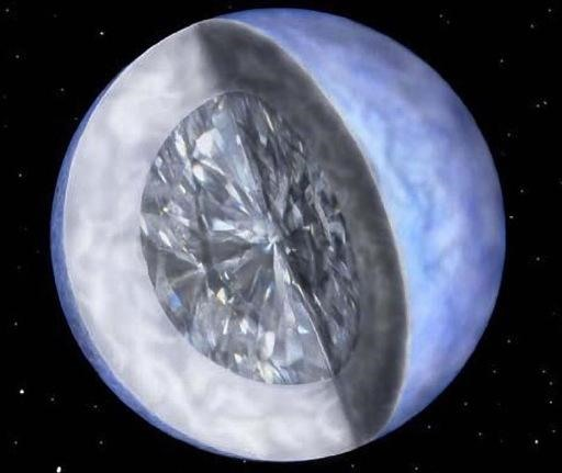 Look! A Diamond the Size of the Moon!