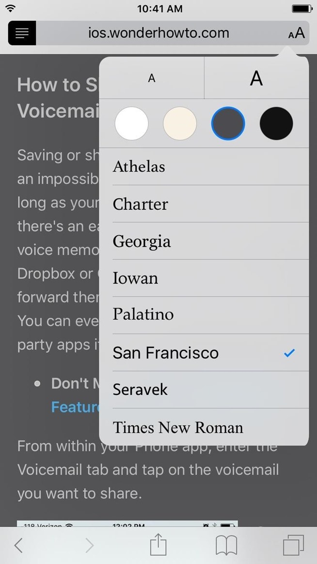 How to Use & Customize Reader Mode on Your iPhone