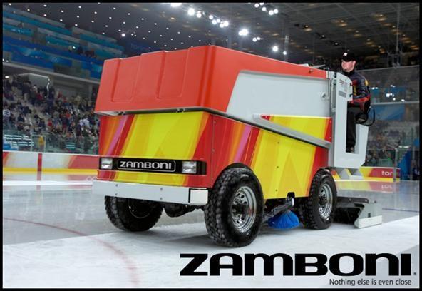Zamboni Drifting