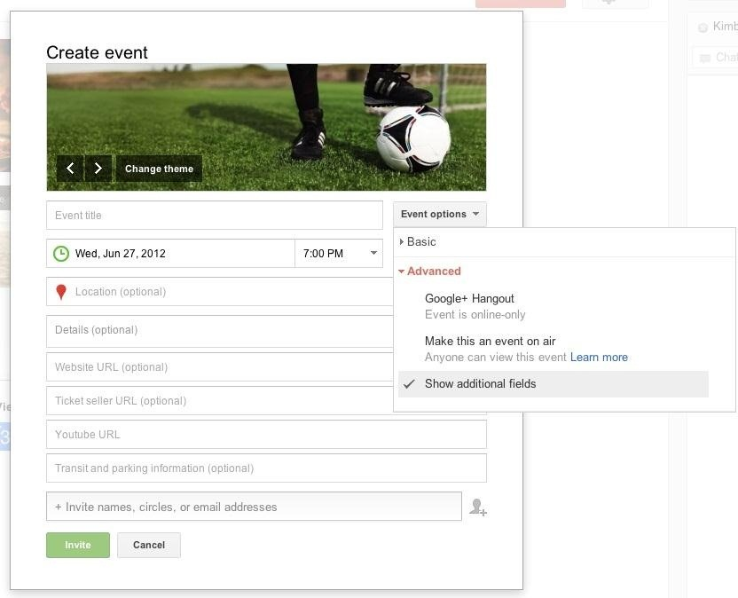 How to Use Google+ Events