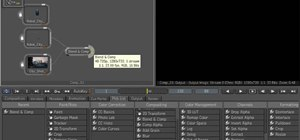 Composite footage in Maya 2010 with MatchMover, Toxik & Backburner