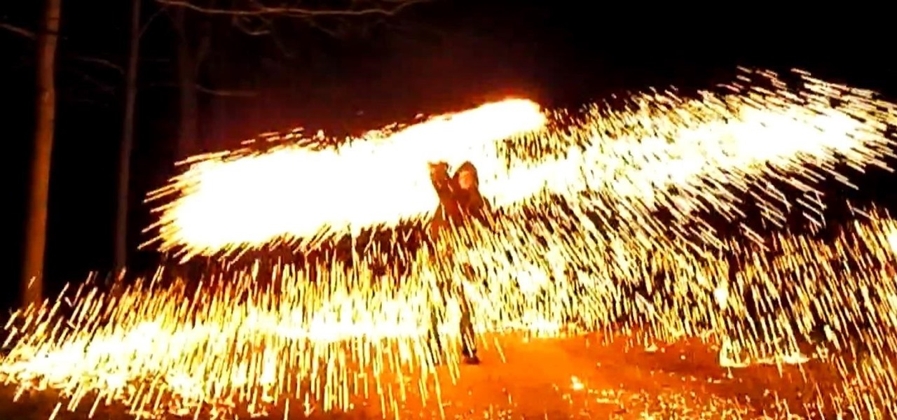 Make a Fire Wire (Easy Steel Wool Fireworks)