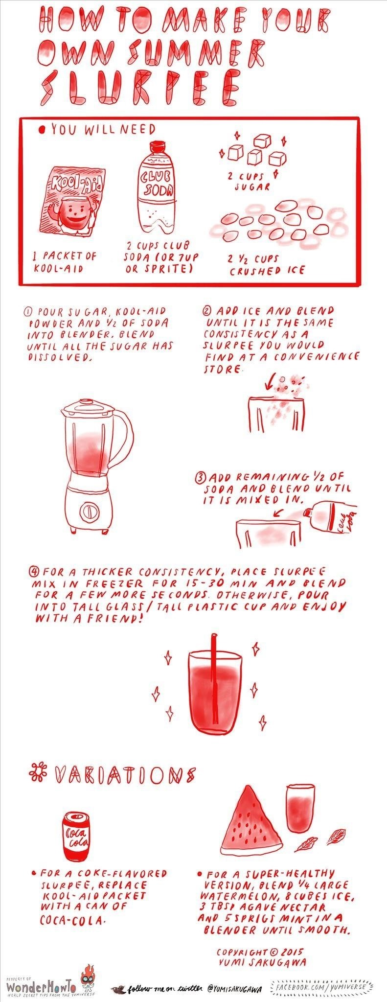 How to Make Your Own Summer Slurpee at Home