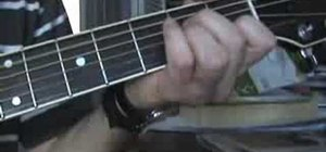 "Play ""In the Gallery"" by Dire Straits on guitar"