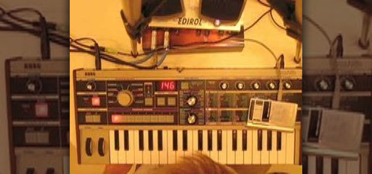 How to Use the Korg MicroKorg analog synthesizer / vocoder