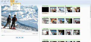 Use Windows Live Movie Maker to edit videos