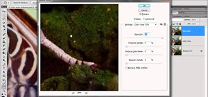 Reduce luminance noise in Adobe Photoshop CS5