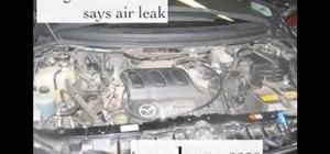 Fix an idle surge on an 04 Mazda