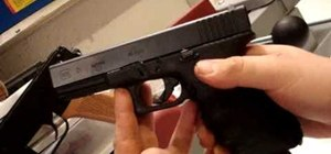 Strip and clean a Glock pistol