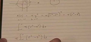 How to find the volume of a sphere with radius r math wonderhowto find the volume of a sphere with radius r ccuart Choice Image