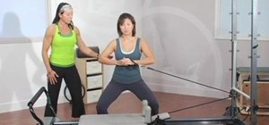 Exercise your upper body with a Pilates Reformer