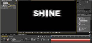 Create shine effects in After Effects without a plugin