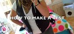 How to Make a vest out of an old men's shirt