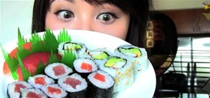 Give Yourself a Sushi Facial