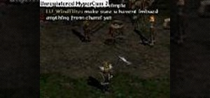 Glitch wirt's leg in Diablo II