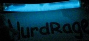 Make a complete refillable glow stick