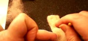 Make needle felt hands