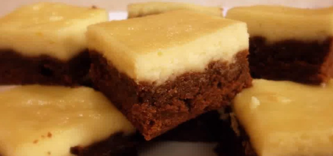 Make Cream Cheese Brownies