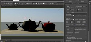 Use vignetting and other exposure controls in 3ds Max 2011
