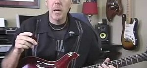 Play guitar using pinch or artificial harmonics