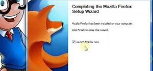 Download & install Firefox v3.5