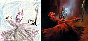 Demented Kids Drawings Brought to Life... Somewhat Chilling