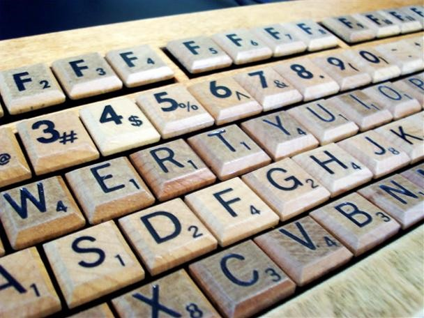 The SCRABBLE Keyboard