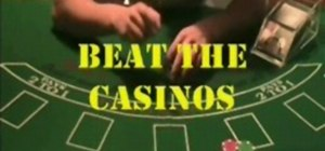 Beat the casinos at Blackjack with card counting