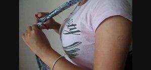 Make a DIY halter style bra strap