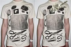 Play Rock Paper Scissors... Against Your T-Shirt