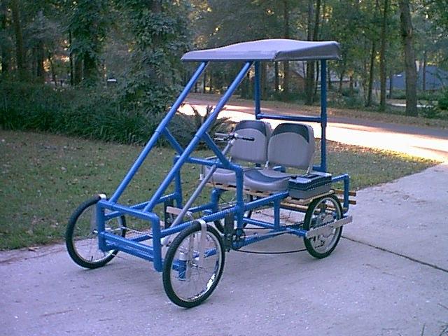 4 Wheel Bicycle Plans