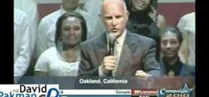 Jerry Brown Victory Speech California Governor Election 2010
