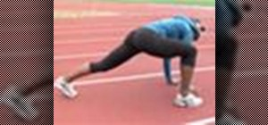 Warm up and stretch correctly before exercise