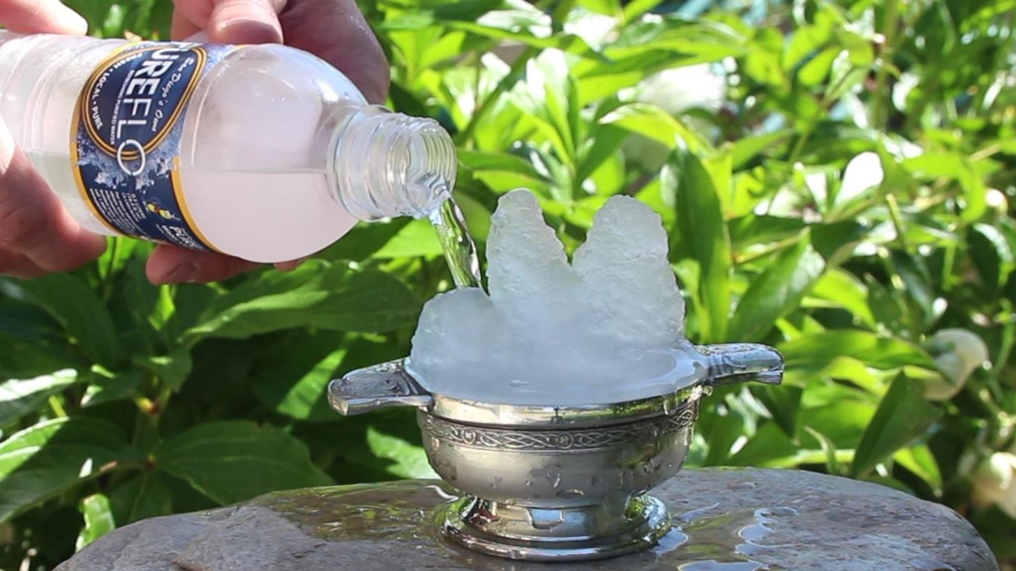 Instant Ice! How to Waterbend in Real Life