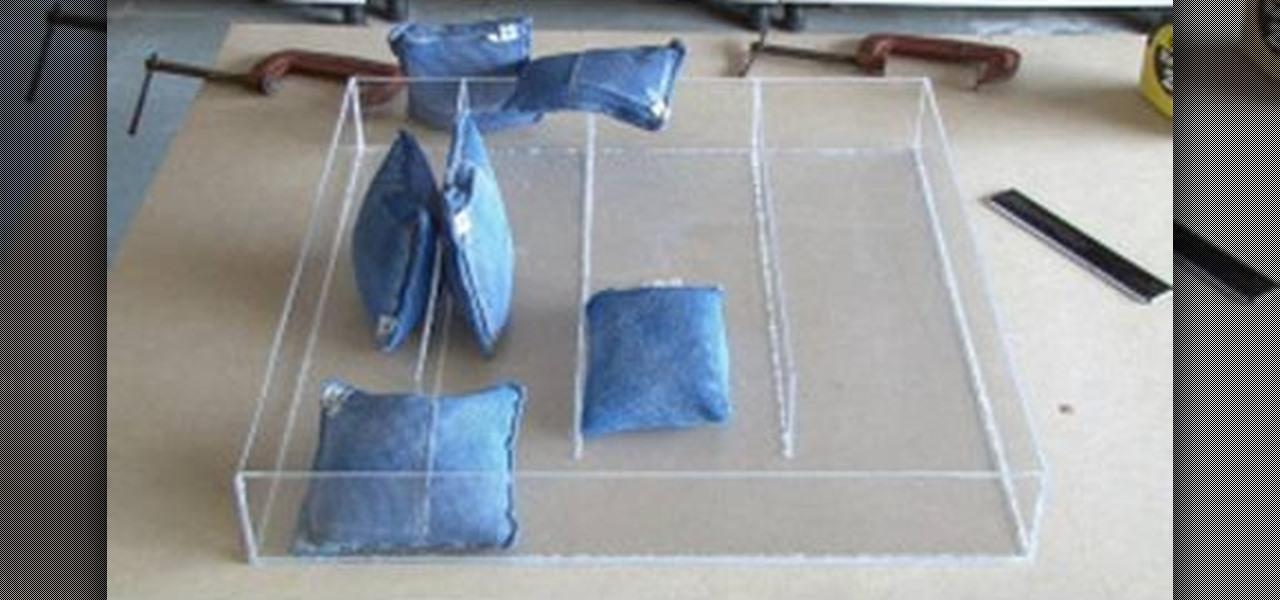 How to Make your own plexiglass drawer organizer « Furniture & Woodworking :: WonderHowTo