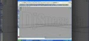 Extrude Adobe Illustrator text in Maya