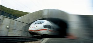What Happens When You Put a High-Speed Camera on a High-Speed Train?