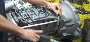 How to Remove and replace the automatic transmission on a