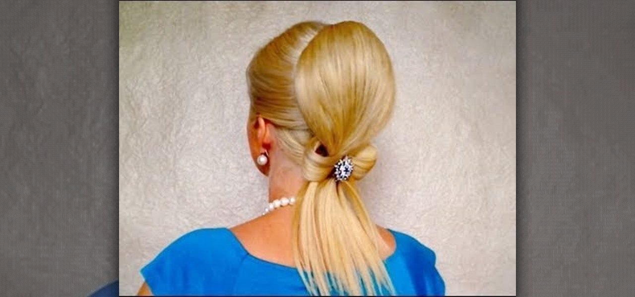 How to give yourself an elegant bow updo for formal events how to give yourself an elegant bow updo for formal events hairstyling wonderhowto solutioingenieria Choice Image