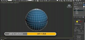 Use the viewport selection features in 3ds Max 2001