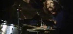 Nick Mason of Pink Floyd rocks out at Pompeii